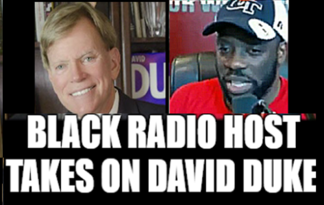 Black host takes on David duke