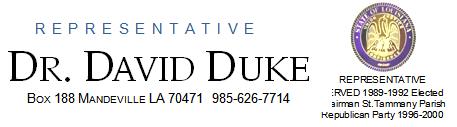 david duke letterhead
