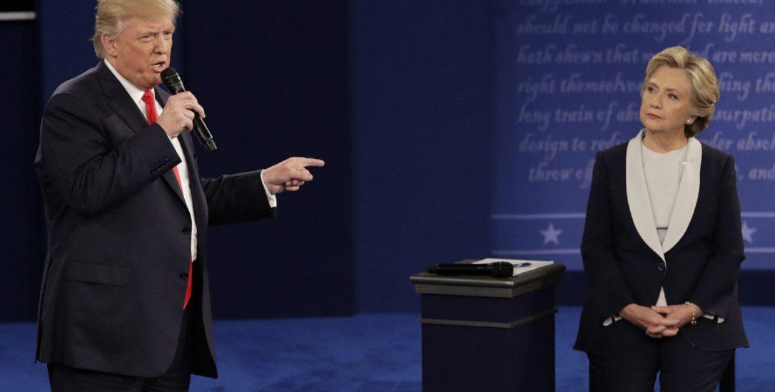 Donald Trump hits a home run