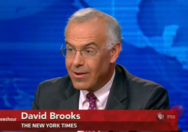 "David Brooks: Whites are ""voting their gene pool"" after being ""ruined"" by globalization, immigration, and feminism"