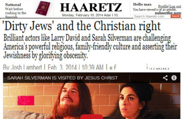 Image result for dirty jews and the christian right