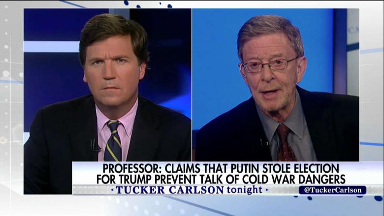 "Dr. Stephen Cohen on Tucker Carlson: Empty Accusations of Russian Meddling Have Become ""Grave National Security Threat"""
