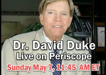 Dr. David Duke — Live on Periscope on the New Battle of New Orleans NOW