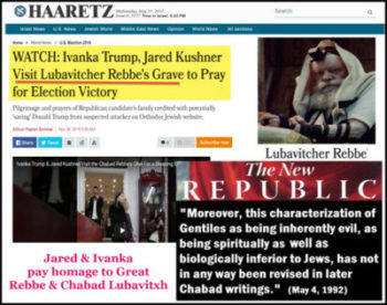 Dr. Duke Powerfully Exposes the Corrupt Extremist  Chabad-Lubavitch Jewish Racist Jared Kushner!