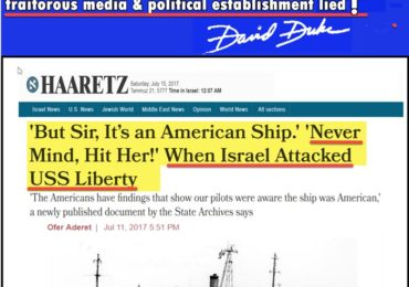 Dr. Duke &  Mark Dankof Expose the ZioAttack on American & Southern White Heritage — and the ZioTerror Behind the USS Liberty Attack!