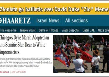"Dr. Duke &   Pastor Dankof  – Jewish Racists Scream Bloody Murder about Duke's ""Zio"" Meme – Zio Tears Replenish my electrolytes!"