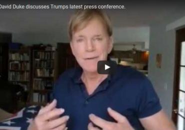 Dr David Duke discusses President Trump's latest press conference