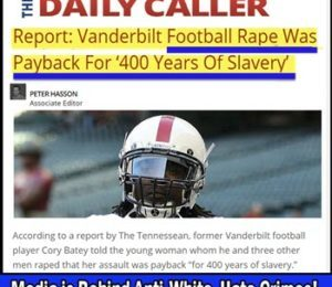 Dr. Duke Exposes the Anti-White NFL and the Vicious Anti-White ZioMedia Hate Speech!