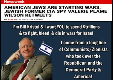 Jewish Former CIA Agent Says: America's Jews Are Driving America's Wars