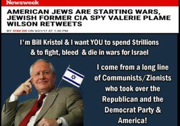 Jewish Former CIA Agent Says: America's Jews Are Driving America's Wars