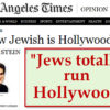 """Patrick Slattery & Andy Hitchcock examine Joel Stein's claim that Jews """"totally run Hollywood"""" and need to keep running it"""