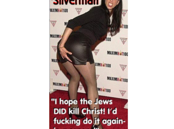 Dr Duke & Andy Hitchcock Expose Zio Support for ISIS & Sarah Silverman's Jewish anti-Goy anti-Christian Hate!