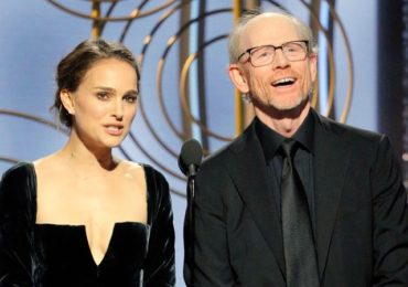 Zio Feminist Supremacist Portman at Golden Globes Decries Man Only Nominees While Hiding Total Jewish Rule over Hollywood!