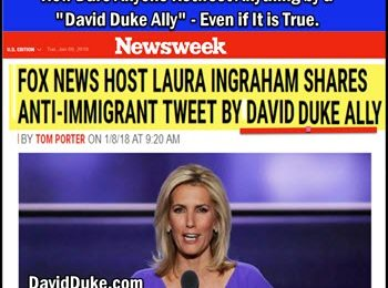 Dr Duke & Mark Collett on Ingraham retweet of Mark's video & Google Lawsuit against Google Proving Zio Hate & Discrimination Against Whites!