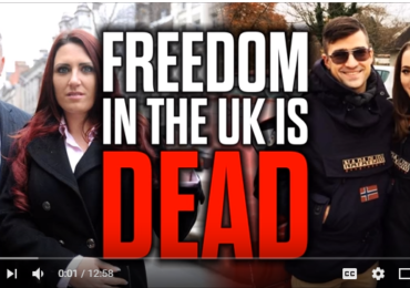Collett video: Freedom in the UK is Dead – Sellner & Pettibone BANNED