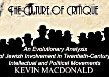 Kevin MacDonald demolishes rebuttal of Culture of Critique