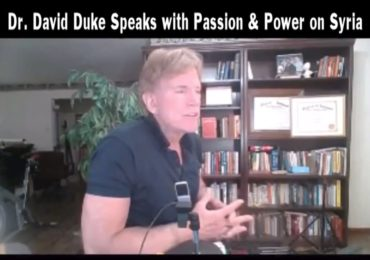 New- Dr David Duke Speaks with Passion & Power on Syria!