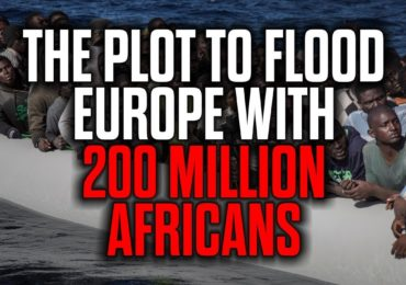 The Plot to Flood Europe with 200 Million Africans — New Mark Collett video