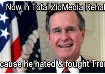 Dr Duke & Andy Hitchcock on Zio-Servant Warmonger George HW Bush is now ZioMedia Saint Because He Hated Trump!