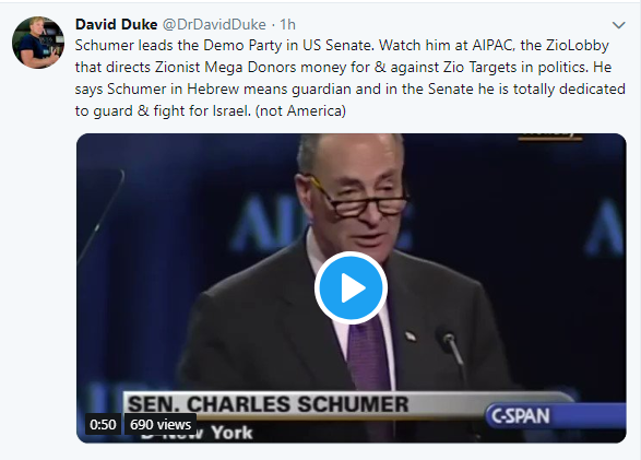Dr Duke & Andy Hitchcock ask why not a single White Congressman dares to call out the Zionists who lead America to destruction!
