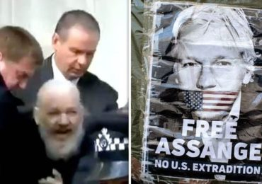 Dr Duke & Mark Collett of UK Honor the True Patriot of all Europeans & Freedom Lovers on Earth: Julian Assange!