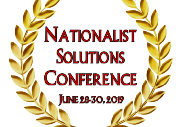 Dr. Duke with Rick Tyler and Atty Augustus Invictus on the Upcoming Historic Nationalist Solutions Conference in Tennessee June 28-30