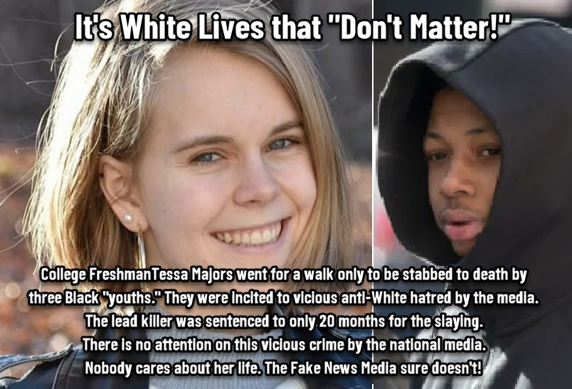 Dr Duke & Andy Hitchcock – According to the fake news media: it's truly white lives that don't matter
