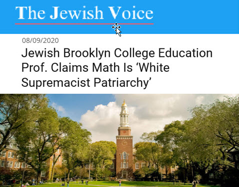Dr. Duke – Jewish Profs Say Math & Grammar are White Racist. And Shows How Orwell Predicted the Ultimate Racism of Jewish Privilege!