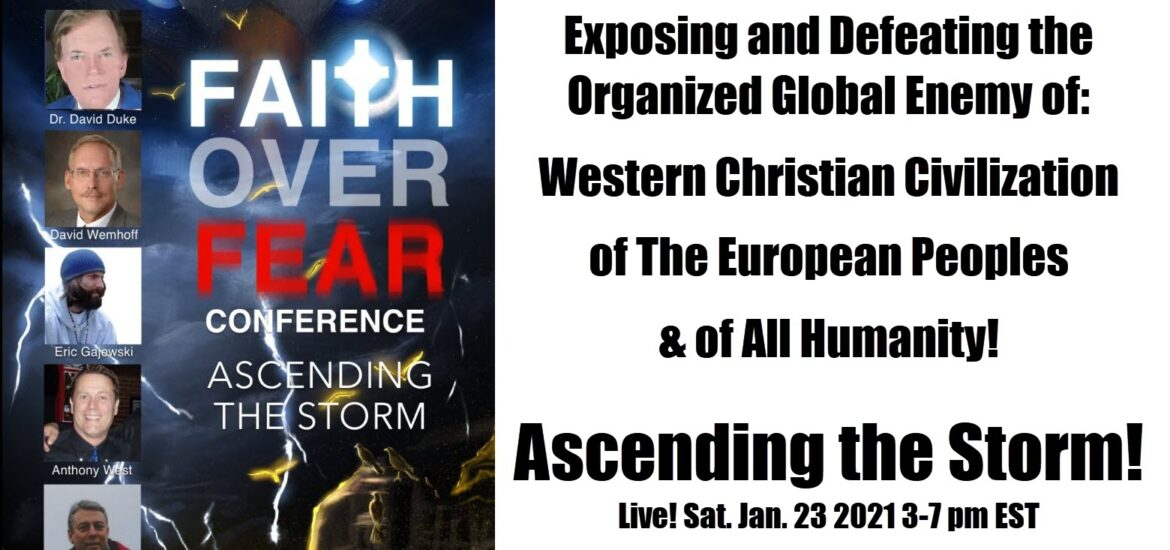 David Duke joins TradCatKnight global seminar on Jan. 23 7pm Don't miss it!