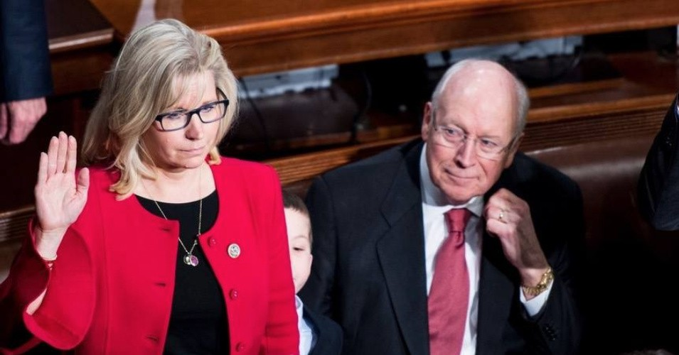 Dr Duke & David Gahary – GOP Traitor & ZioWarmonger Shabbos Goy, Liz Cheney, Saved by Secret Vote in the House!
