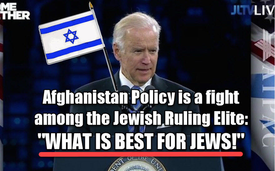 Dr Duke & Dave Gahary – The only ZioMedia Criticism of Shabbos Goy Biden is to his withdrawal from Afghanistan. Why? We show why!