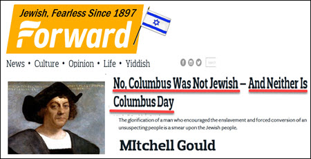 Dr Duke and Dr Slattery – Jews make up lie that Columbus was a Jew to promote themselves. Now Jews claim he not Jewish but a White supremacist!