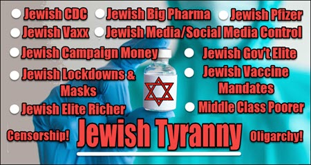 Dr Duke & Andy Hitchcock on mounting Resistance to the Jewish Vaxx & How Mandates Empower Jewish Tyranny!
