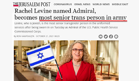 """Dr Duke & Dr Slattery on the Jewish Dictatorship Insanity such as """"Rachel Levine."""" Is He a """"Rear Admiral?"""""""