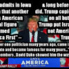 Dr Duke & Dr Slattery -Trump Implies he is heir to David Duke's America First Movement! & MSNBC points out that Carlson also inherits the legacy of David Duke on White Replacement!!